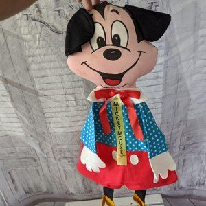 Vintage Mickey mouse disney pocket hanging decor